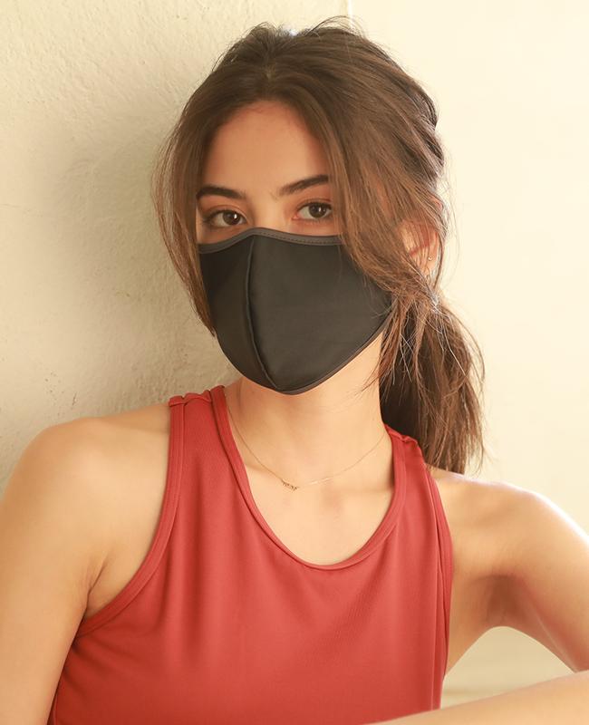 水着素材UVカットパイピングマスク