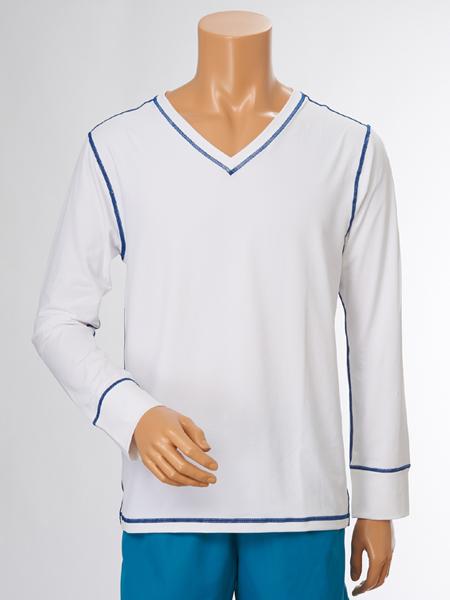 UV カット HommeロングTシャツ メンズ(156130)