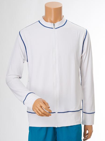 UVカット Hommeスタンドジップジャケット メンズ(156131)
