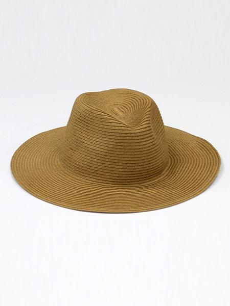 ペーパー中折ツバ広帽子