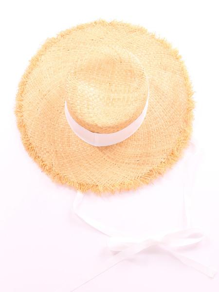 ロングリボンカンカン帽(188403)