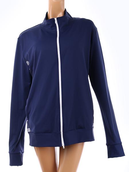 【ユニセックス】スタンドカラーUVカットジャケット(195036)