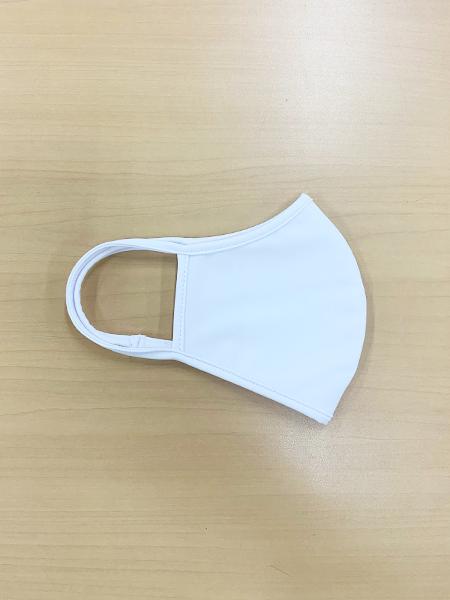 無地パイピングマスク【洗える水着素材のUVカットマスク】(202021)