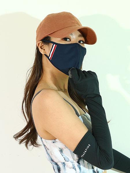 ライン入りパイピングマスク(202028)