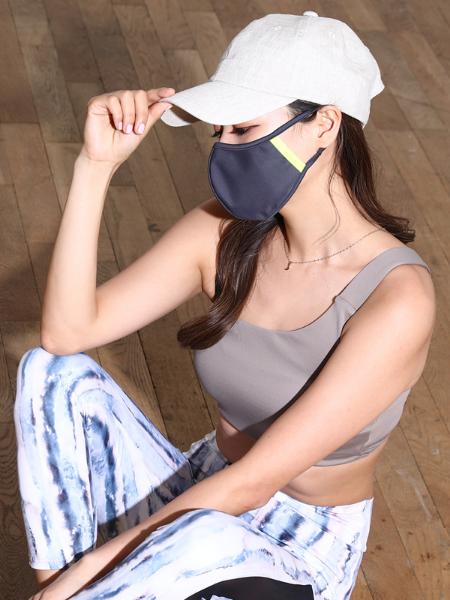 ネオンラインパイピングマスク(202029)