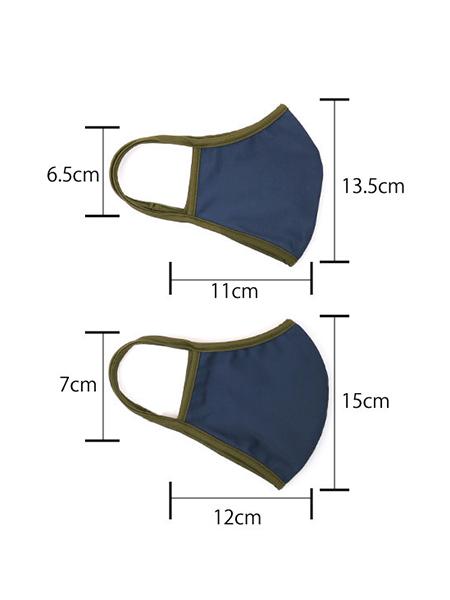 サイズ 上:ふつうMサイズ 下:おおきいLサイズ