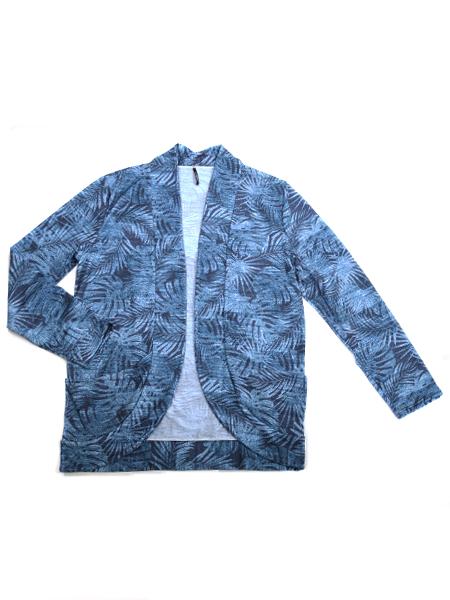 リーフ柄メンズUVカットジャケット(206340)