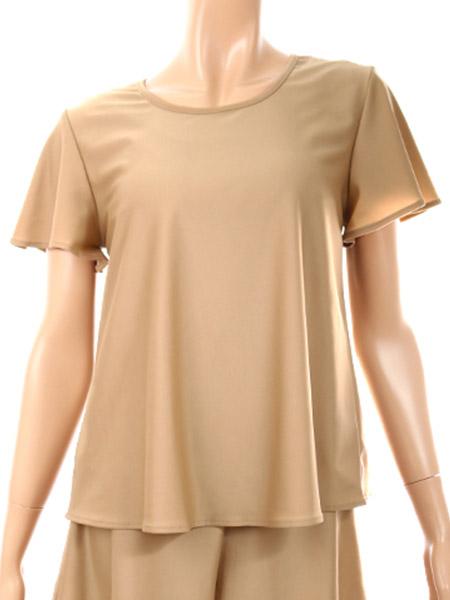 レイヤードTシャツブラトップス(215004)